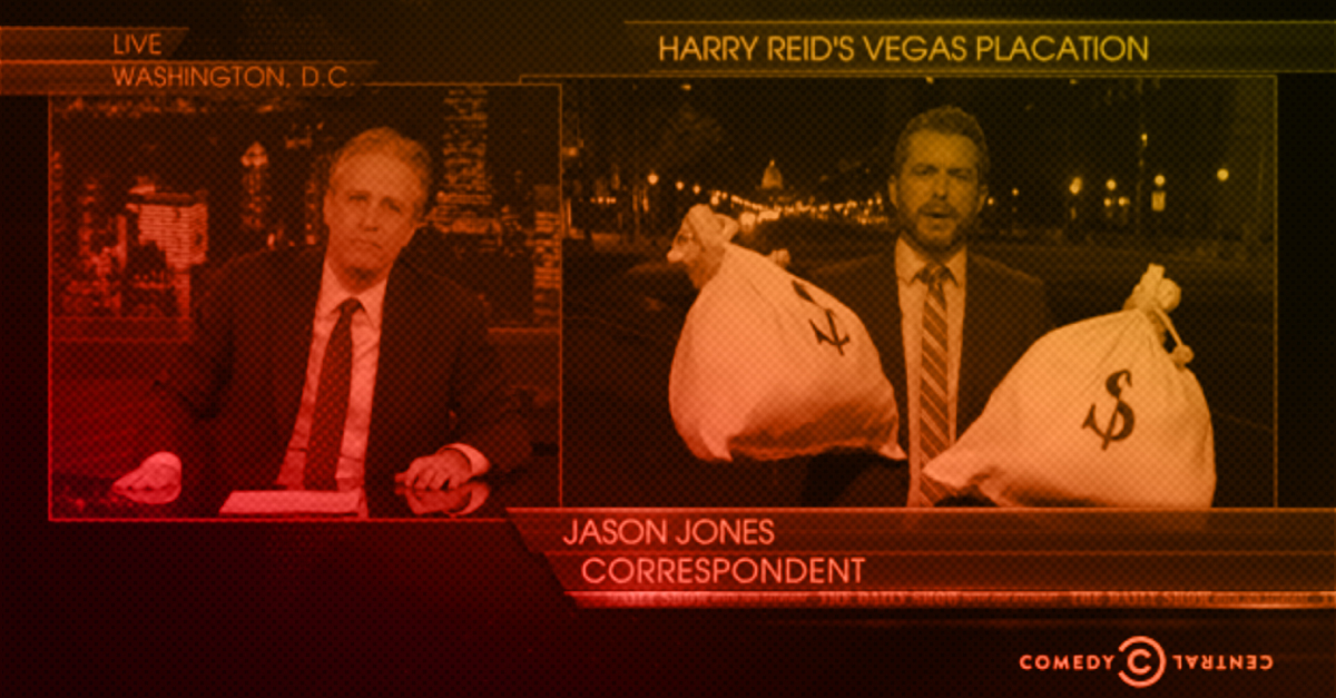 The Daily Show Nails How American Politicians Talk About Corruption