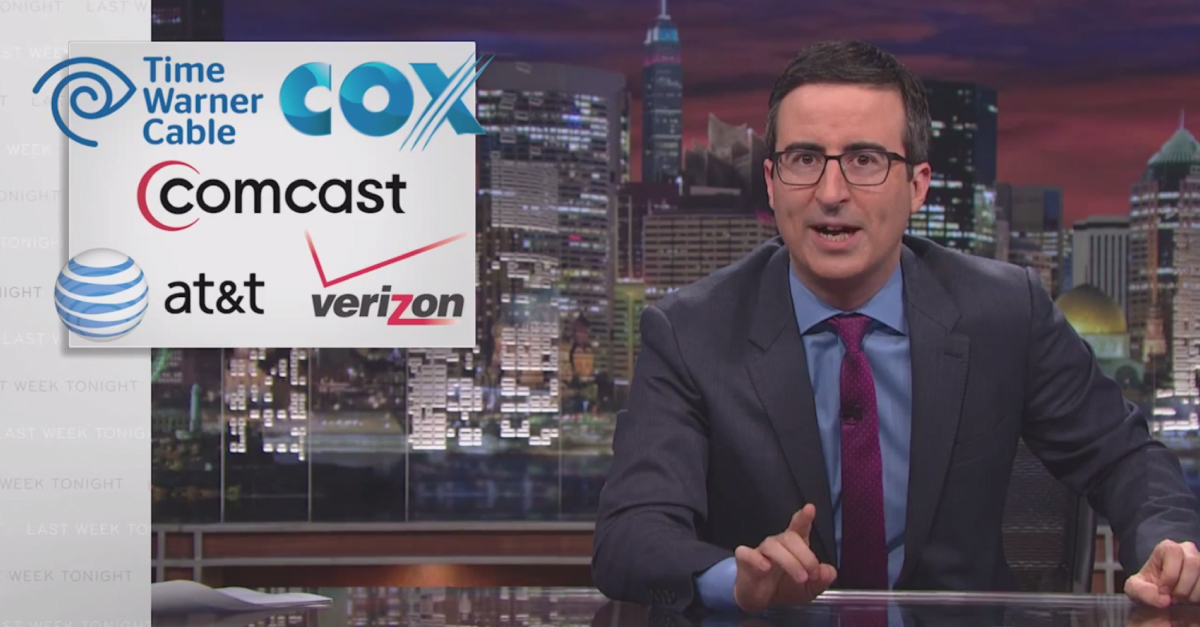 The Epic John Oliver Video That Crashed the FCC's Servers