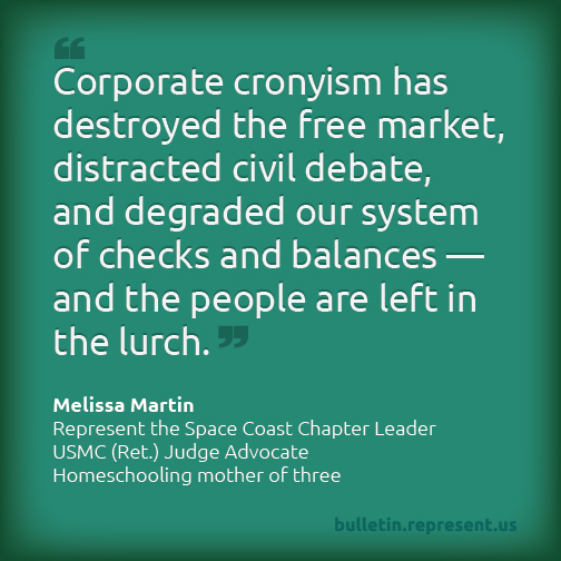 Corporate Cronyism Leaves Regular People in a Lurch