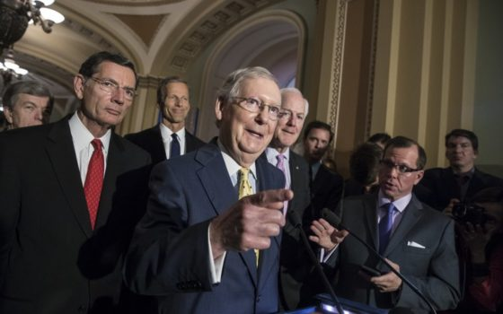 Here's how much senators writing the Senate Healthcare Bill got from a top insurer and a leading drugmaker