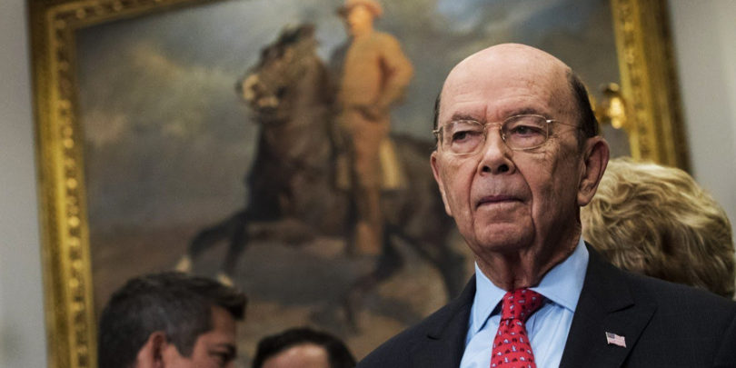Commerce Secretary Wilbur Ross Could Be One of the Biggest Grifters in US History