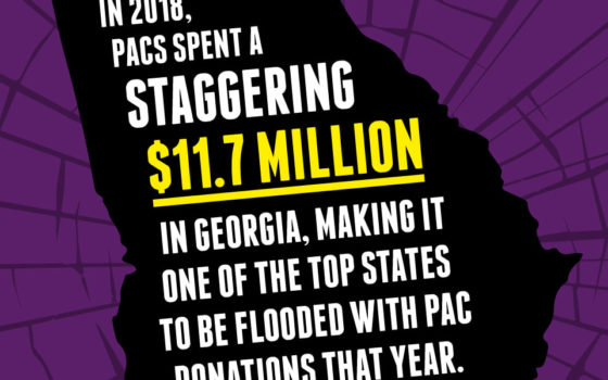 Georgia Flooded with PAC Money